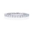 .71ct Diamond 18k White Gold Eternity Wedding Band Ring