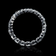 3.06ct Diamond Platinum Eternity Wedding Band Ring