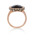 .53ct Diamond and Smokey Topaz 14k Rose Gold Ring
