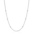 .11ct Diamond Chain 14k White Gold Necklace
