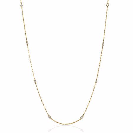 Diamonds by the Yard 14k Yellow Gold Necklace