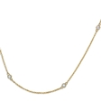 .14ct Diamonds by the Yard 14k Yellow Gold Necklace