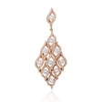 1.74ct Diamond 18k Rose Gold Pendant