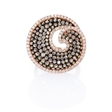 .76ct Diamond 18k Rose Gold Ring