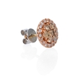 .97ct Diamond 18k Rose Gold Earrings with Jackets