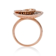 .71ct Diamond 18k Rose Gold Ring