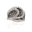 3.25ct G.Verdi Diamond 18k White Gold Ring