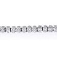 2.80ct Diamond 18k White Gold Tennis Bracelet
