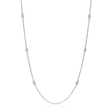 .33ct Diamond Chain 14k White Gold Necklace