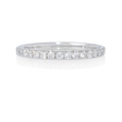 .25ct Diamond 18k White Gold Ring