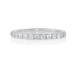 .75ct Diamond French Pave Platinum Eternity Wedding Band Ring