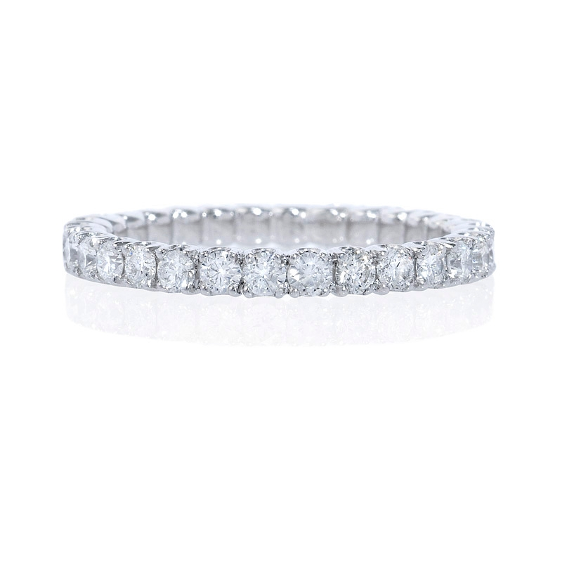 bands band round tw wedding eternity shaped to htm diamond ct product p u in platinum