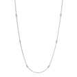 .14ct Diamond Chain 14k White Gold Necklace