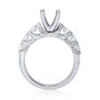 .65ct Diamond Platinum Antique Style Engagement Ring Setting