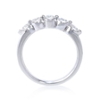 .61ct Diamond Platinum Wedding Band Ring