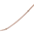 .13ct Diamonds By the Yard 14k Rose Gold Necklace