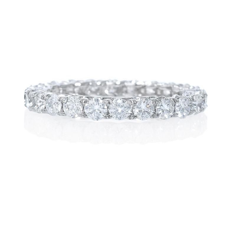 1 46ct platinum eternity wedding band ring