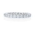 1.46ct Diamond Platinum Eternity Wedding Band Ring