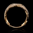 .31ct Diamond and Black Rhodium 18k Rose Gold Ring