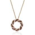 Diamond 14k Rose Gold Pendant