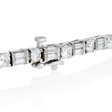 7.80ct Diamond 18k White Gold Bracelet