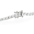 3.43ct Diamond 18k White Gold Tennis Bracelet