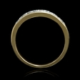 .50ct Diamond 14k Yellow Gold Wedding Band
