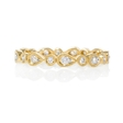 .30ct Diamond Antique Style 18k Yellow Gold Eternity Ring