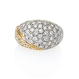 2.02ct Diamond 14k Two Tone Gold Ring