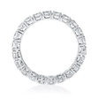 1.75ct Diamond 18k White Gold Eternity Wedding Band Ring