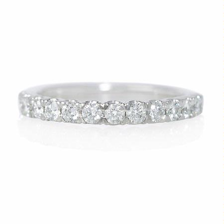 Diamond Platinum Wedding Band Ring