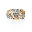 2.83ct Diamond 14k Yellow Gold Ring