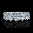 9.23ct Diamond Platinum Eternity Wedding Band Ring