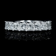 2.52ct Diamond 18k White Gold Wedding Band Ring