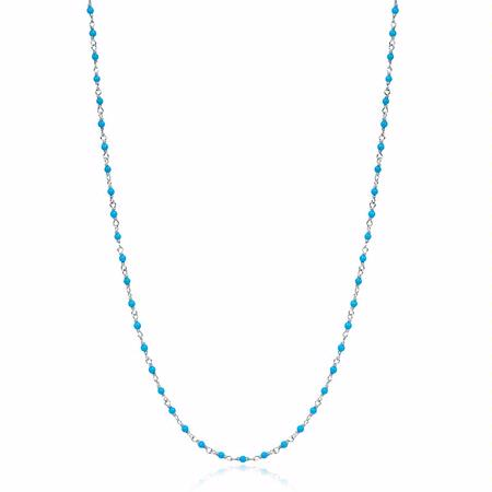 Doves Turquoise Sterling Silver Necklace