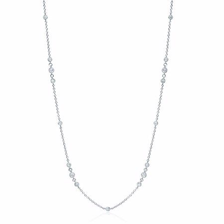 Diamonds by the Yard 18k White Gold Necklace