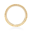 Yellow Sapphire 18k Yellow Gold Eternity Wedding Band Ring