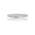 .54ct Diamond 18k White Gold Eternity Wedding Band Ring