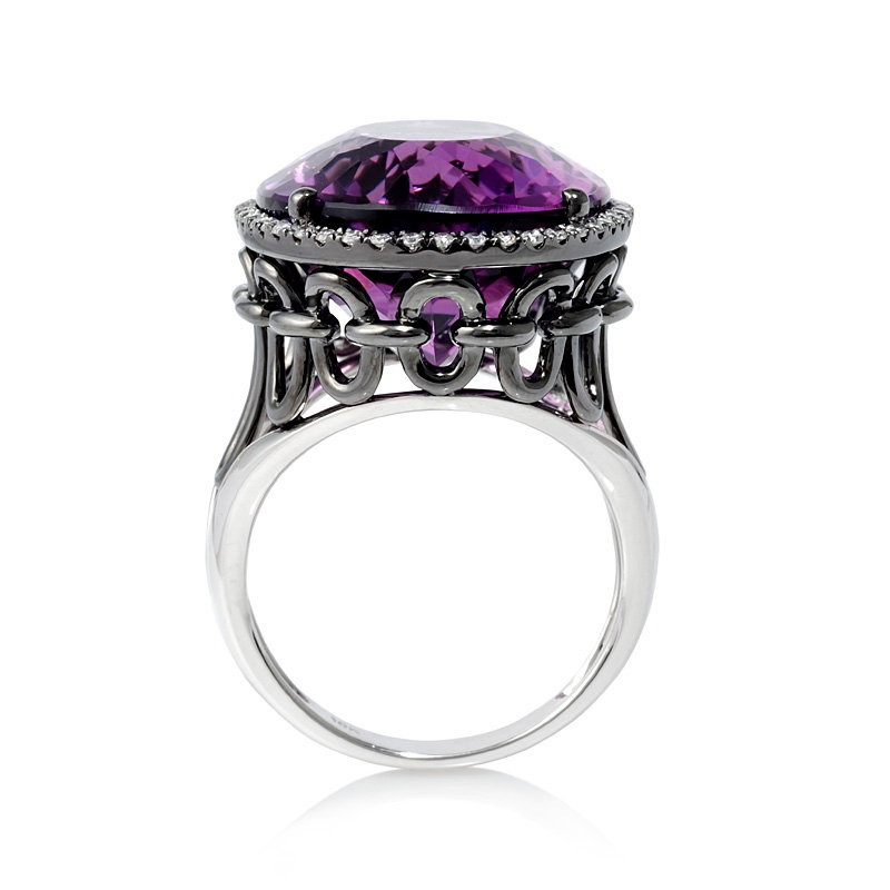 black gold rings black gold rings with purple