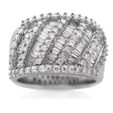 2.00ct Diamond 18k White Gold Ring
