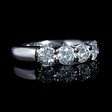 1.90ct Diamond Platinum Wedding Band Ring