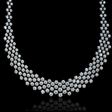 16.24ct Diamond 18k White Gold Necklace