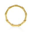 .32ct Simon G Diamond Antique Style 18k Yellow Gold Eternity Ring