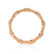 .32ct Simon G Diamond Antique Style 18k Rose Gold Eternity Ring