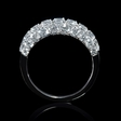 2.20ct Diamond 18k White Gold Wedding Band Ring