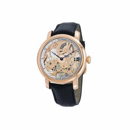 le vian complications stainless steel swiss