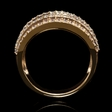 2.14ct Diamond 18k Rose Gold Ring