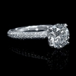 .66ct Diamond Antique Style Platinum Engagement Ring Setting