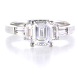 .33ct Diamond Platinum Engagement Ring Setting