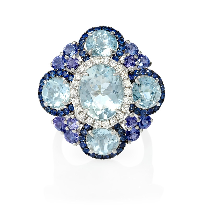 sapphire courtney cathedral aq pink aquamarine ring erica company cathedralring mccaskill and